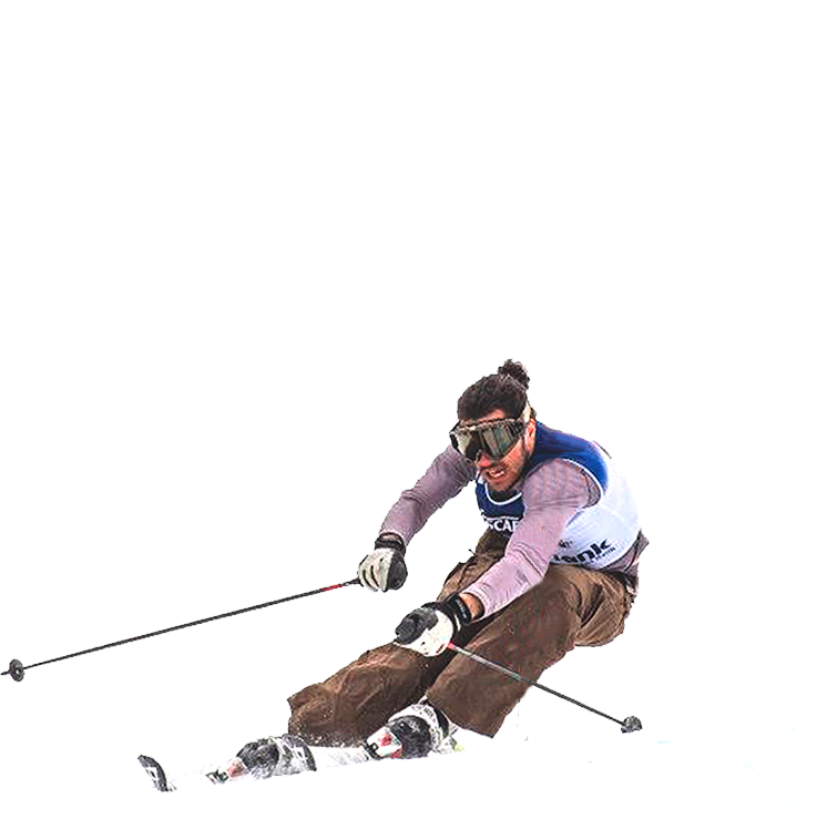 Member of the national team for alpine skiing image
