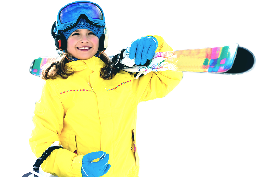 Ski and snowboard school image